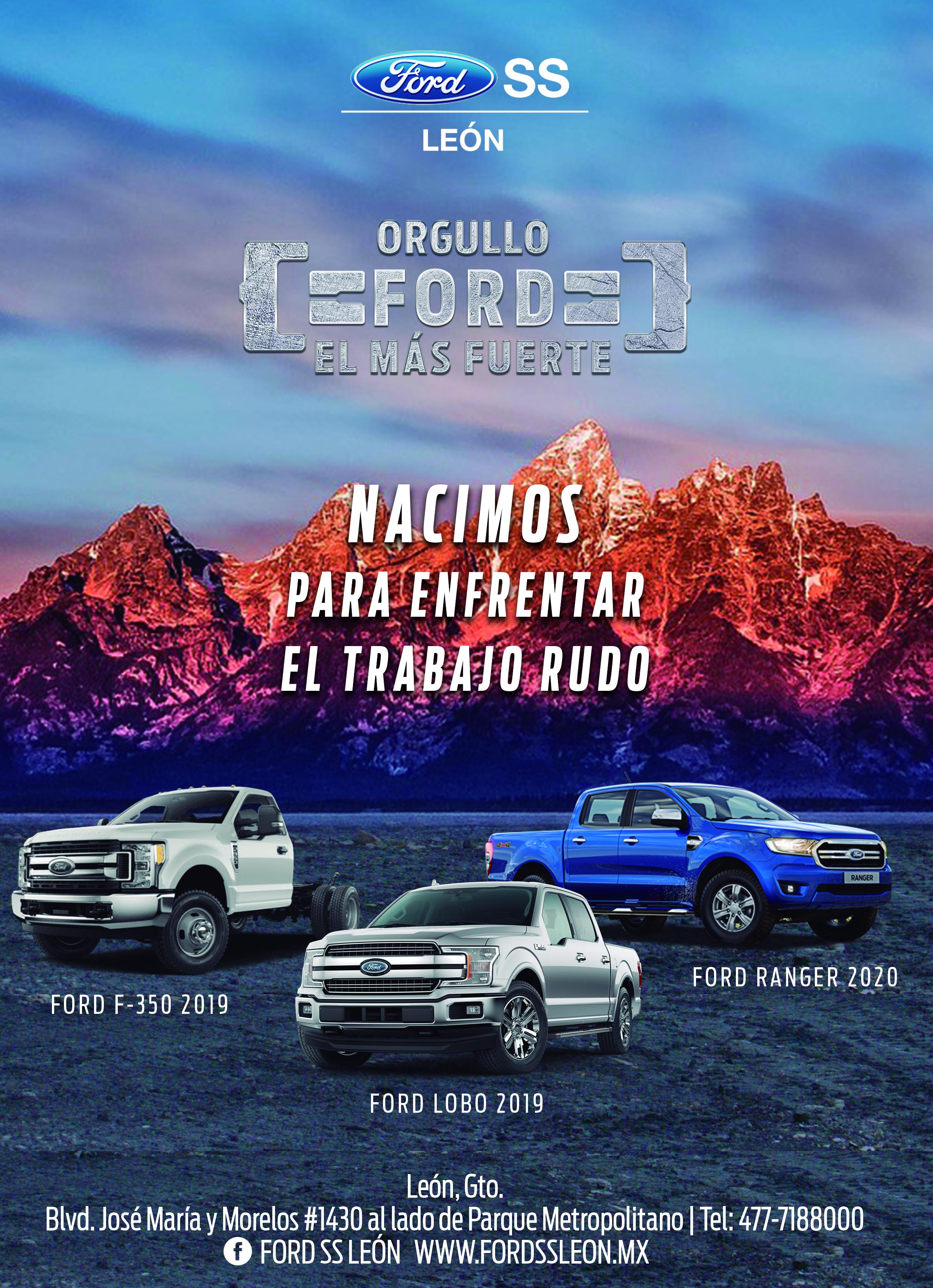 Ford Revista tamaño completa 21x 29